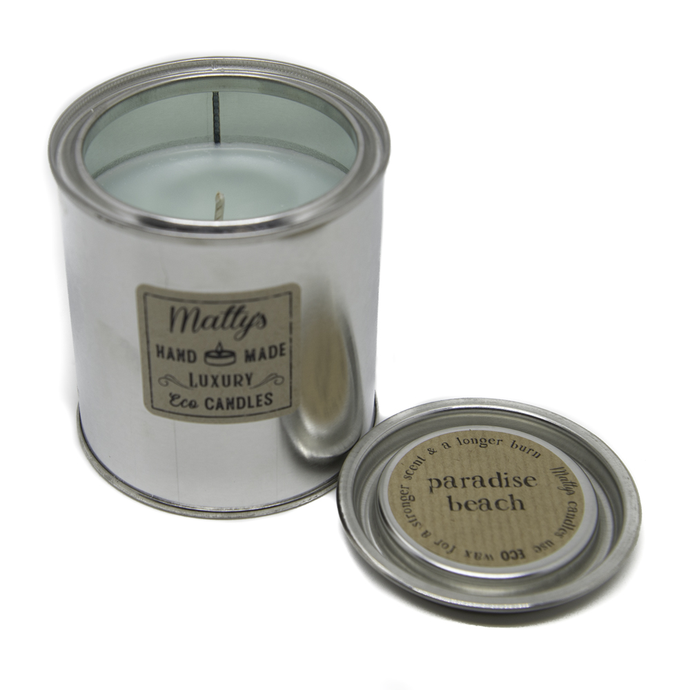 Paradise Beach Candle - Matty's Candles